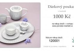 DÁRKOVÝ POUKAZ 1.000,- Kč