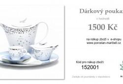 DÁRKOVÝ POUKAZ 1.500,- Kč