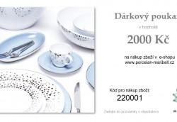 DÁRKOVÝ POUKAZ 2.000,- Kč