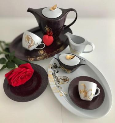 ROMANTIC VELVET káva/čaj